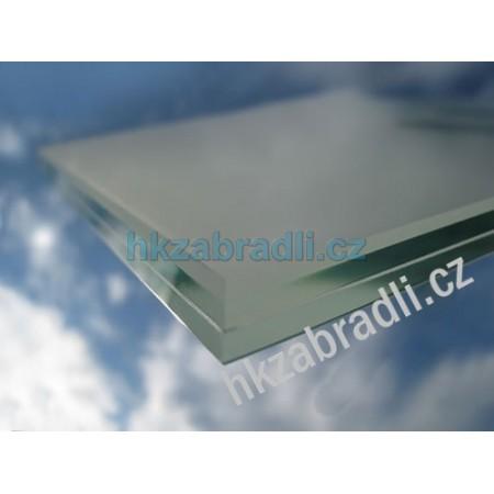 HK Zábradlí Bezpečnostní sklo mléčné 6.6.2