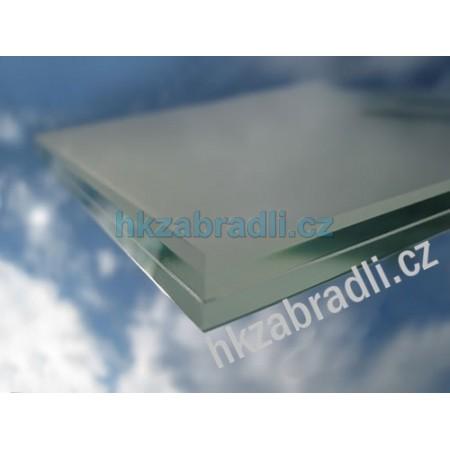 HK Zábradlí Bezpečnostní sklo mléčné 4.4.2