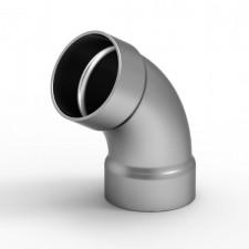 Koleno na madlo 50mm/135° pro vnější nasunutí