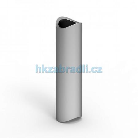 Krycí profil závitové tyče s rádiusem na profil 40mm