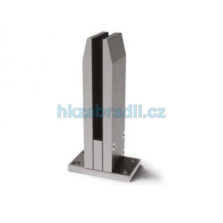 HK Zábradlí držák bezpečnostního skla HLINIK bronz