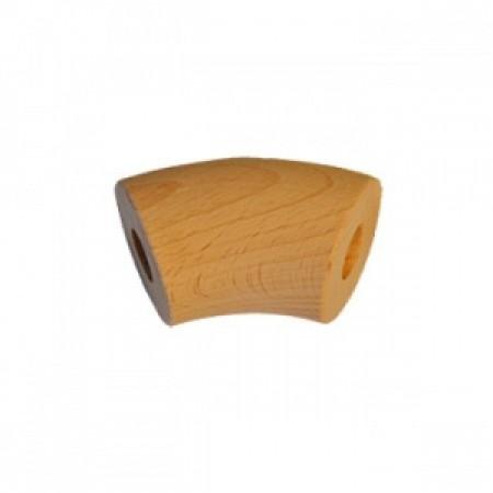 Koleno bukové 42,4mm 135°