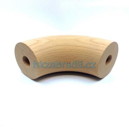 HK Zábradlí Dřevěné koleno 49x90° BUK