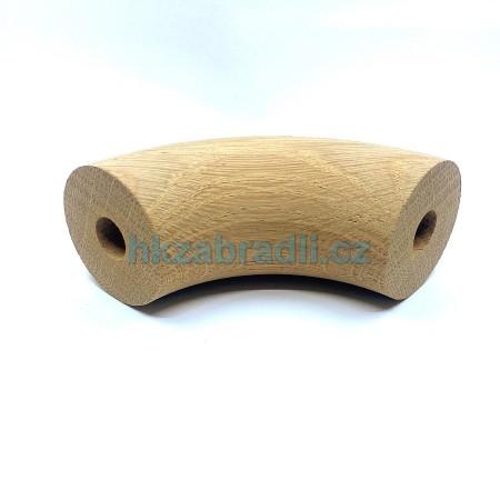 HK Zábradlí Dřevěné koleno 49x90° DUB