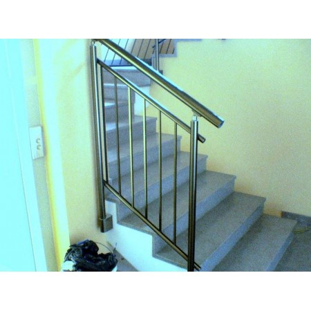 Zábradlí na schody model A3 horní, barva SILVER