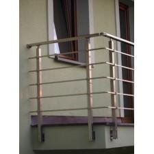 Zábradlí na terasu, balkóny a lodžie model N2 boční