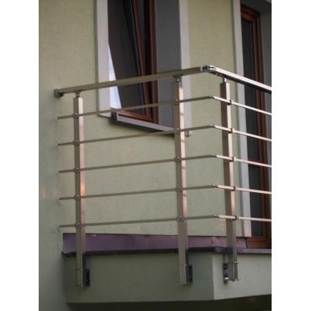 Zábradlí na terasu, balkóny a lodžie model HK2B boční