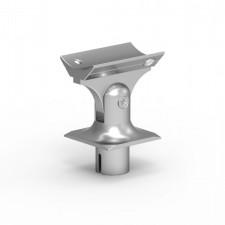 Pohyblivá hlavice na hranaté madlo 60x25mm silver