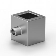 Dekorační úchytné očko pro profil 14x14mm silver