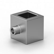Dekorační úchytné očko pro profil 14x14mm