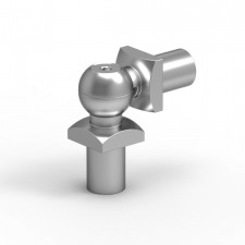 Pohyblivé koleno na výplň 14mm silver