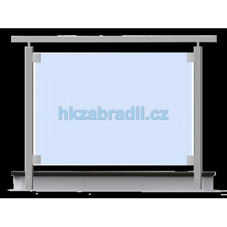 HK Zábradlí rovné HNSBR-2 AISI304 brus