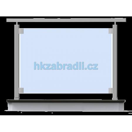 HK Zábradlí rovné HNSHR-2 AISI304 brus