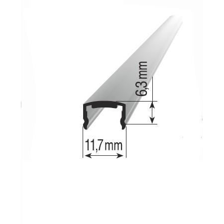 Péro do drážky profilů s průměrem 40/30mm. Barva BRONZ