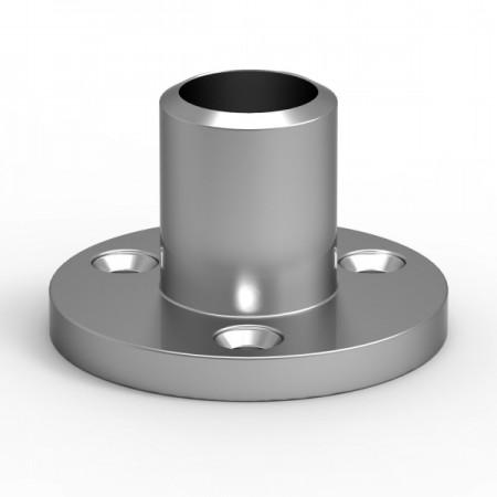 Příruba na šrouby pro profil 16 mm. Barva BRONZ