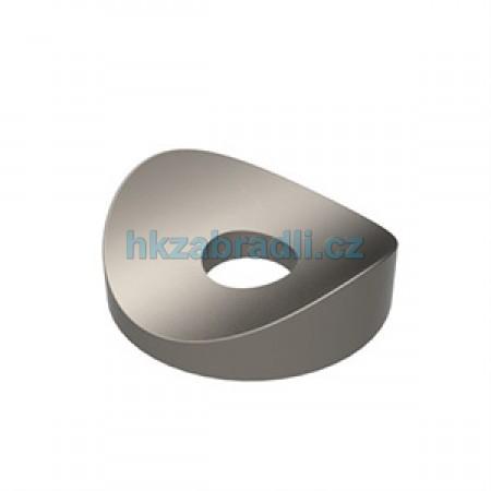 Dekorační podložka s radiusem na profil 40mm. Barva BRONZ