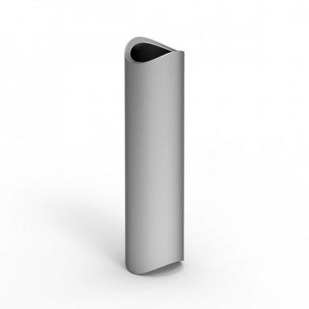 Krycí profil závitové tyče pro boční kotvení sloupku 40x40mm. Barva BRONZ