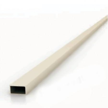 Příčka hranatá 11x20mm pro svislou výplň. Barva BRONZ