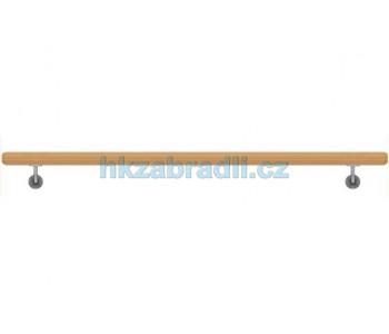 HK Zábradlí Madlo na zeď dřevěné D49xL1000 DUB