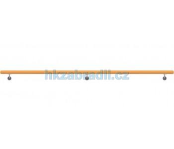 HK Zábradlí Madlo na zeď dřevěné D49xL3000 BUK