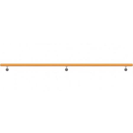 Dřevěné Bukové Madlo Na Zeď 49x3000mm
