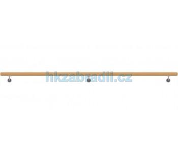HK Zábradlí Madlo na zeď dřevěné D49xL3000 DUB