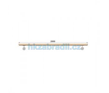 HK Zábradlí Madlo dřevěné D42xL2000 DUB