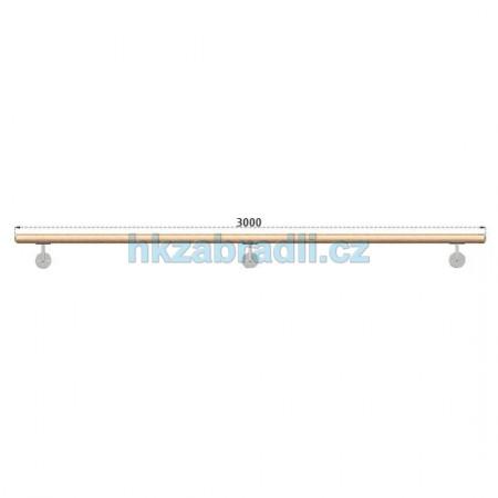 HK Zábradlí Madlo dřevěné D42xL3000 DUB