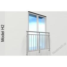 Zábradlí na francouzská okna H2