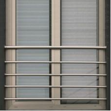 Zábradlí na francouzská okna model H7S barva SILVER