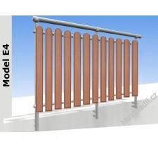 Zábradlí na terasu a balkóny E4