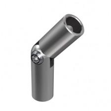 Nerezové koleno pohyblivé pro výplň 12x1,5mm