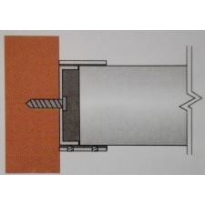 Kotvení madla 42,4 mm na zeď