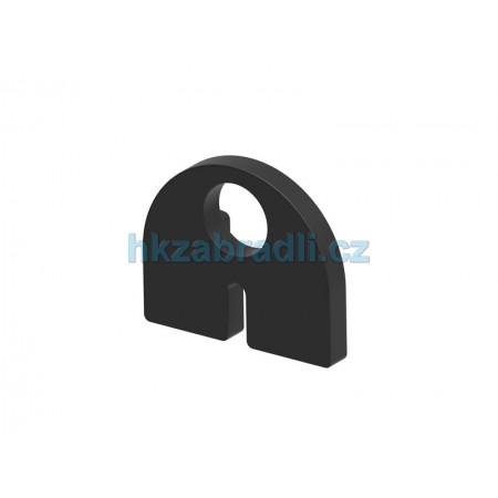 HK Zábradlí těsnění skla 8,76 model 20 Guma