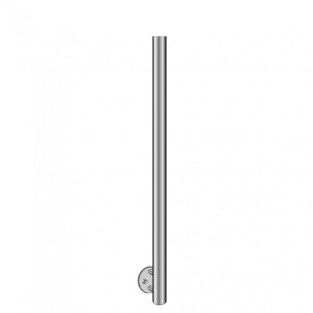 Nerezový sloupek 42,4 mm boční kotvení výška 116 cm holý