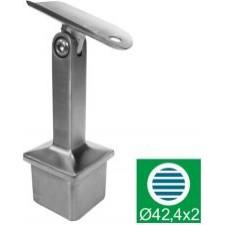 Nastavitelný držák madla AISI304, D42,4x2/40x40x2m