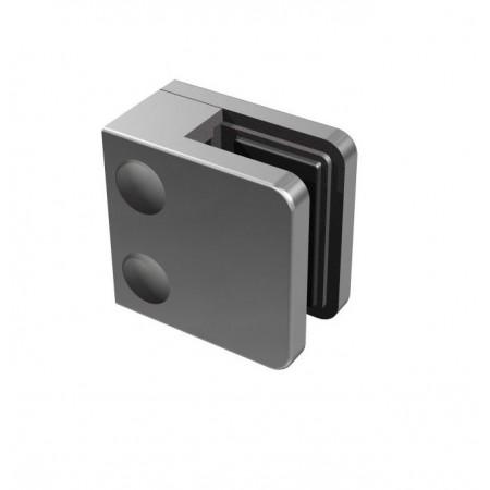 Držák skla 6 až 10,76mm na sloupek 40x40x2mm