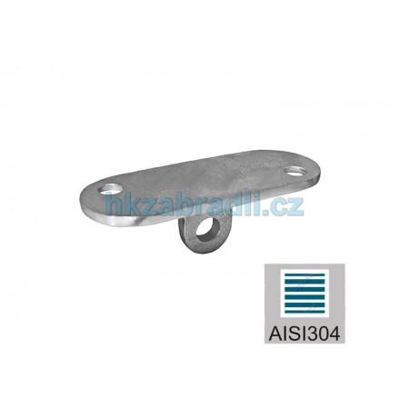 HK Zábradlí Vanička pro madlo 40x40 AISI304 brus