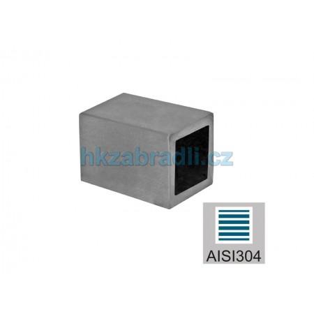 HK Zábradlí záslepka vyplně 10x10 AISI304 brus