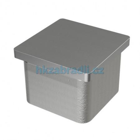 HK Zábradlí záslepka madla 40x40 AISI304 bronz