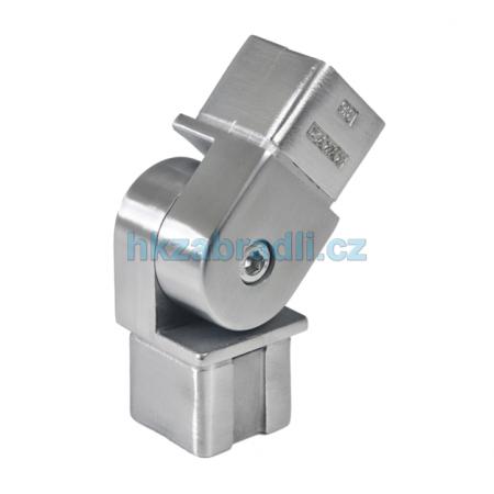HK Zábradlí pohyblivé koleno 40x40 AISI304 brus