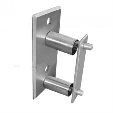 Kotvení boční obdélnikové AISI304, 40x40x2mm
