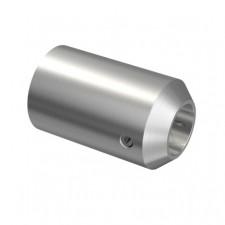 Držák výplně osový d12 AISI304, d12/40x40x2mm