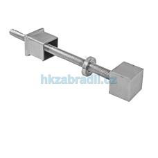 HK Zábradlí Kotvení boční AISI304 brus